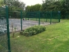 New fencing around carpark