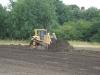 Top soil stripped