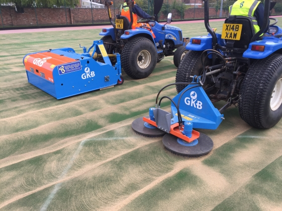 Artificial Pitch Cleaning