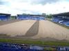 sand spreading