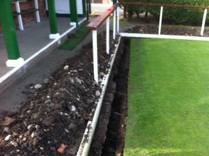 gutter dig out